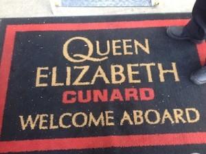 Welcome aboard floor mats