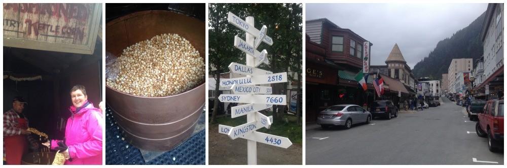 Kettle Corn in Juneau main street