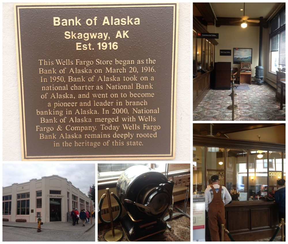 Wells Fargo Bank of Alaska in Skagway