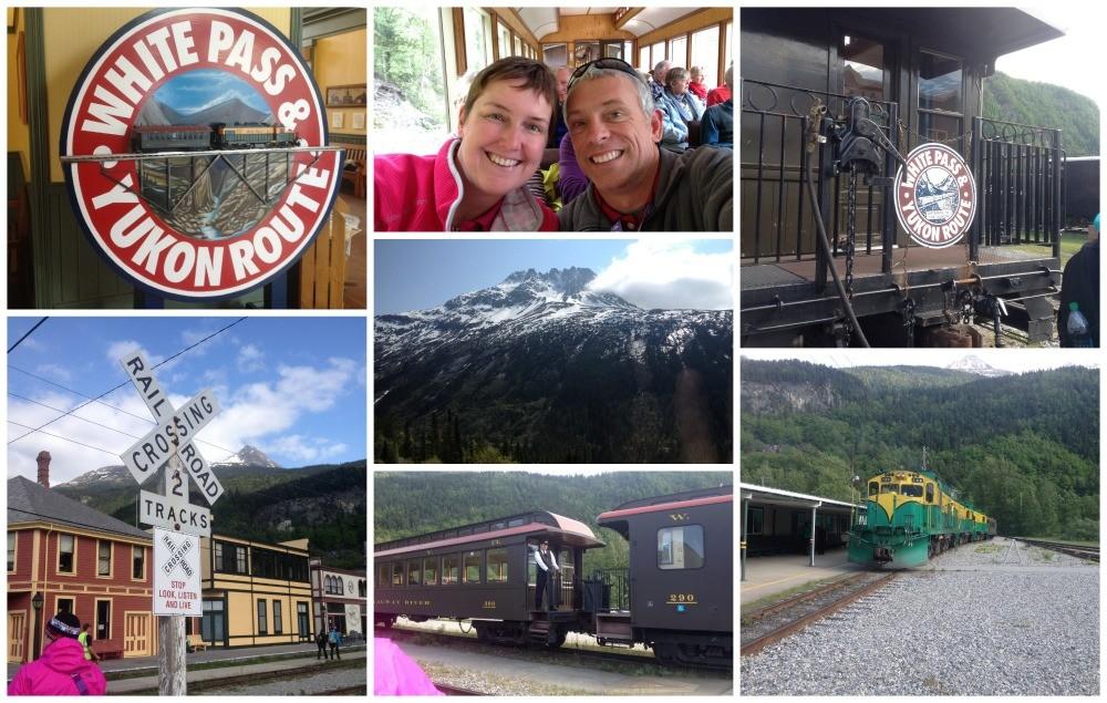 White Pass & Yukon Route in Skagway Alaska
