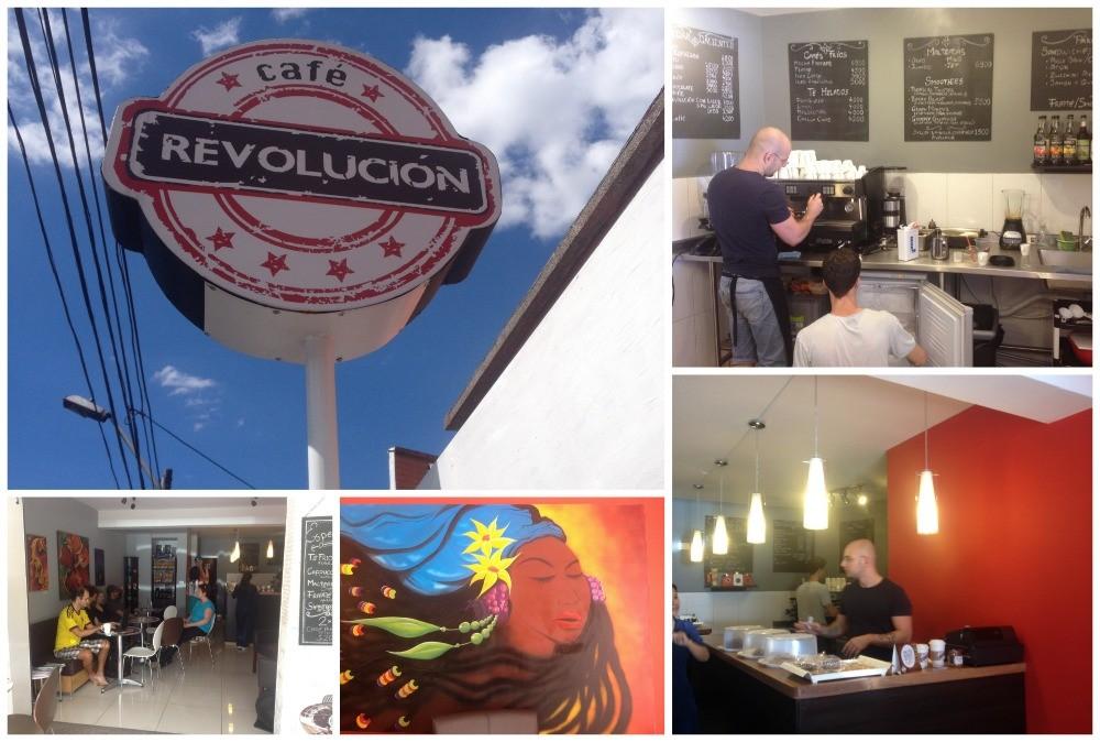 Cafe Revolucion in Estadio, Medellin