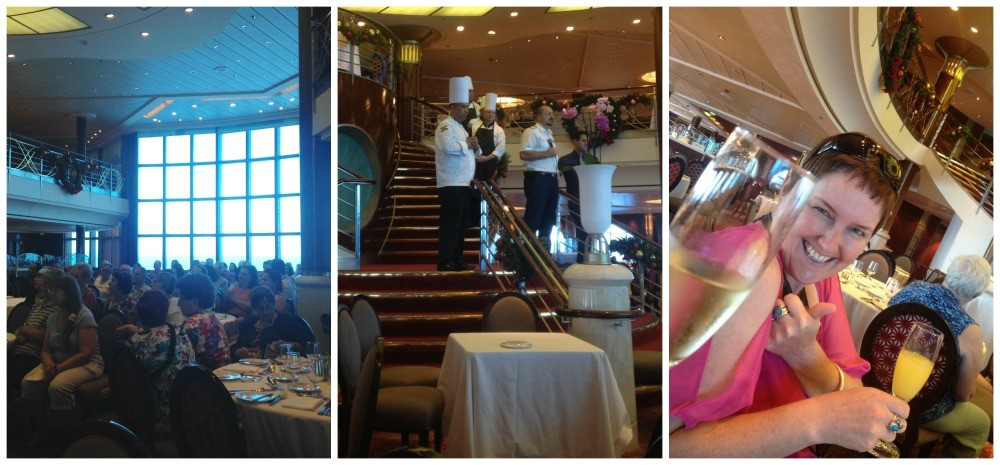 The Celebrity Infinity Gally tour with F&B Director Zafer Colak