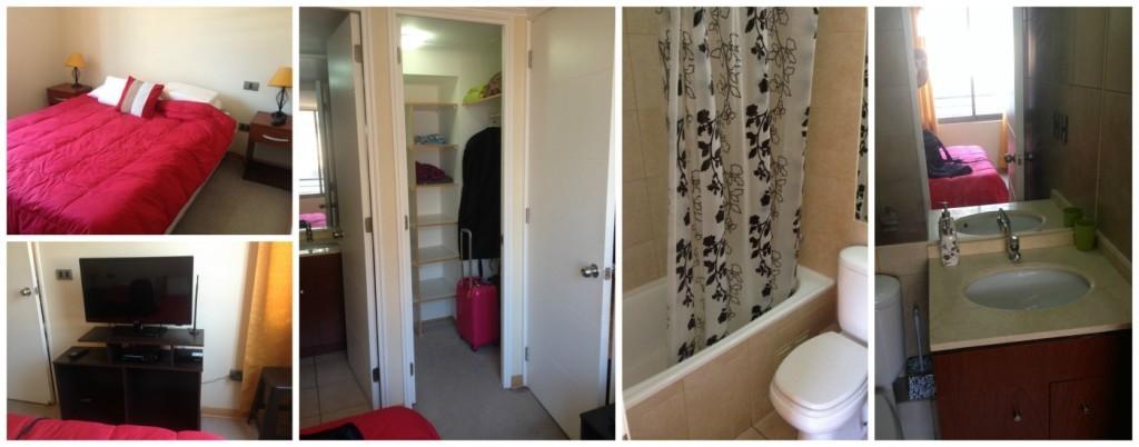Bedroom ensuite and walk-in robe
