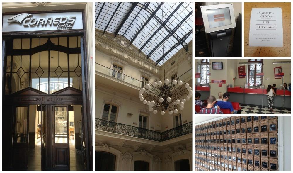 Correos Chile - Santiago Post Office