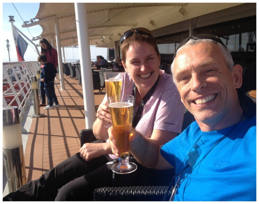 Cheers from MSC Magnifica in Buenos Aires
