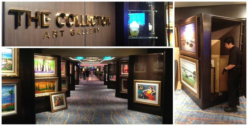 Art Gallery on Norwegian Escape