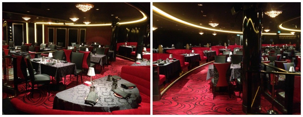 Inside the Supper Club on NCL Escape