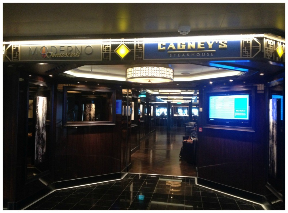 Moderno Churrascaria & Cagney's Steakhouse on NCL Escape
