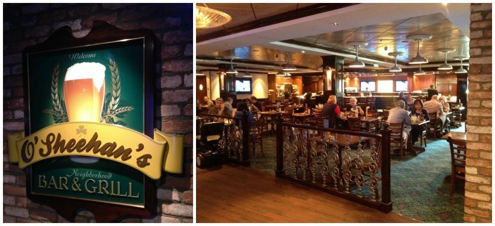 O'Sheehan's Bar & Grill on Norwegian Escape