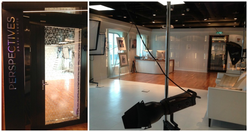 Perspectives photo studio on NCL Escape