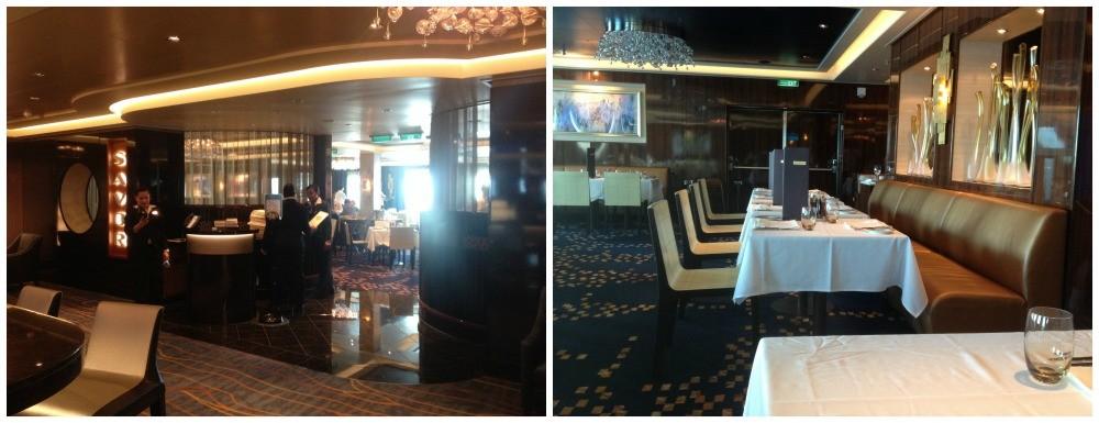 Savor Restaurant on NCL Escape