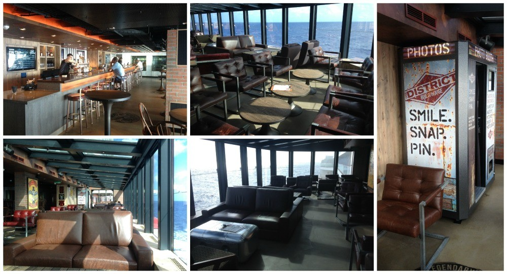 The District Brewhouse on Norwegian Escape