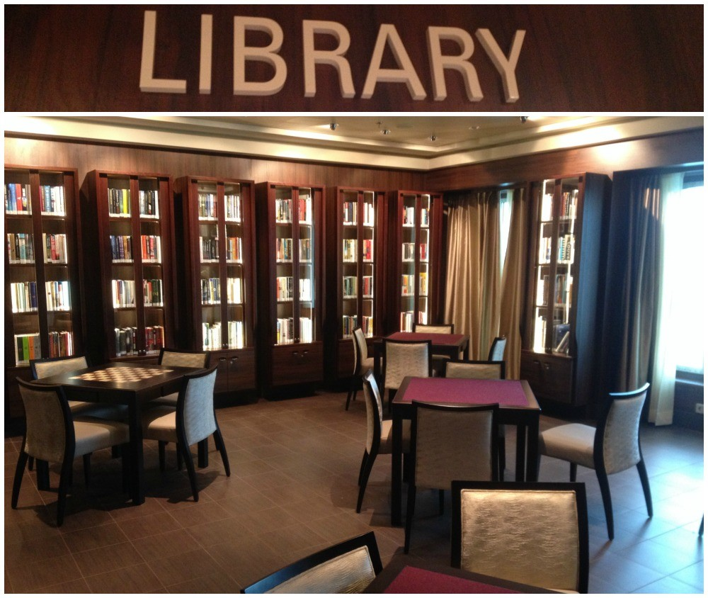 The Library on Norwegian Escape