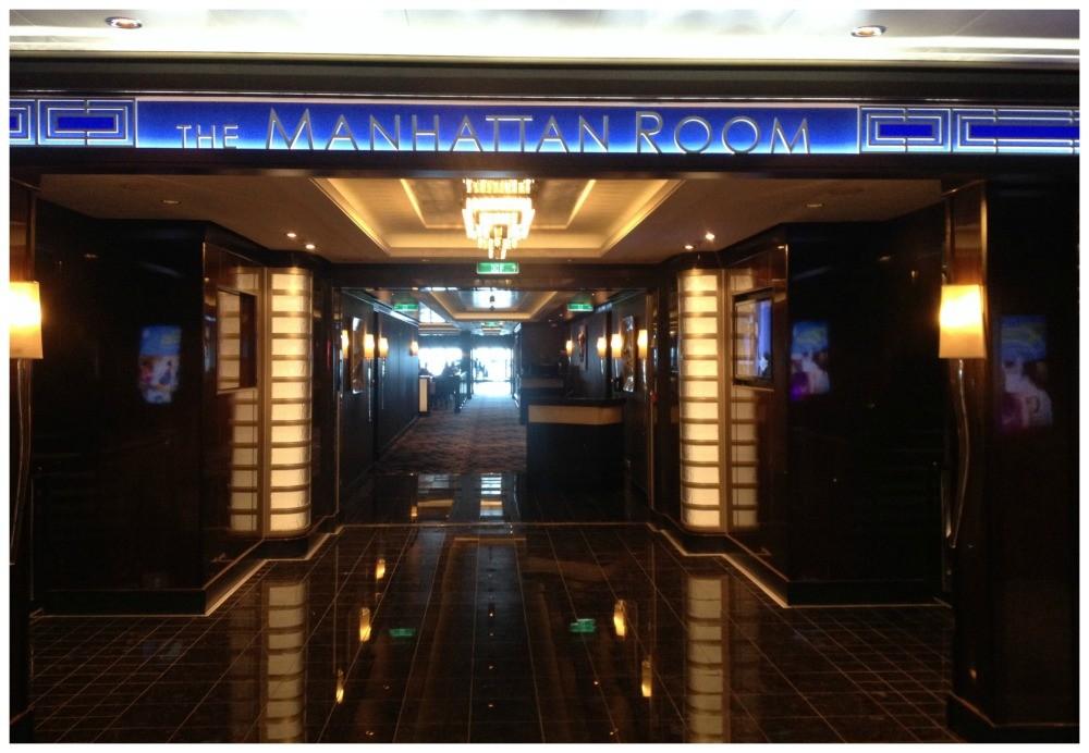 The Manhattan Room on Norwegian Escape