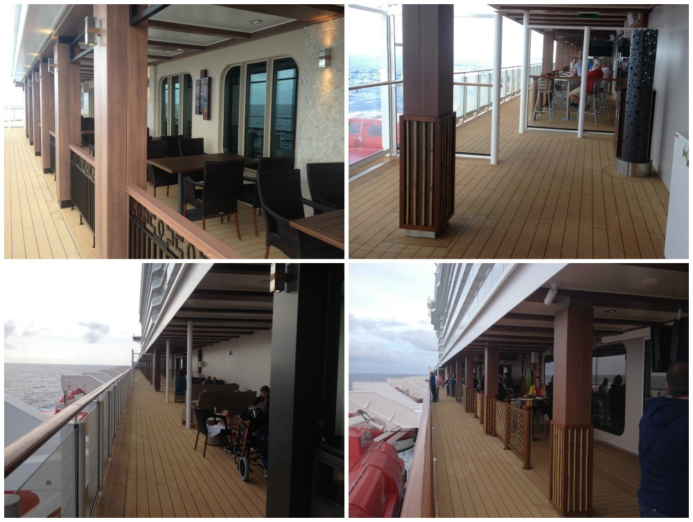Waterfront images from the NCL Escape