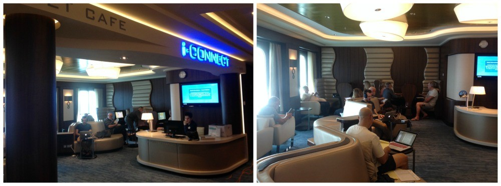 i-connect the Internet Cafe on Norwegian Escape