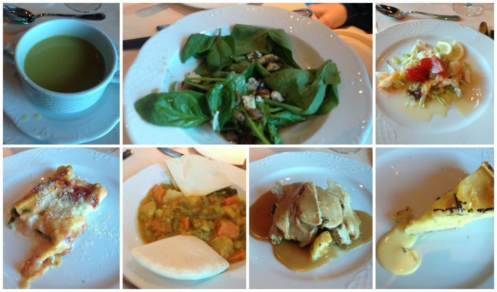 Le Fontane restaurant lunch meals