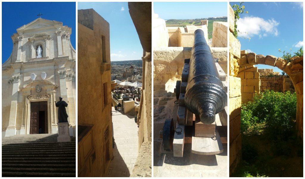 Citadel in Victoria the capital of Gozo