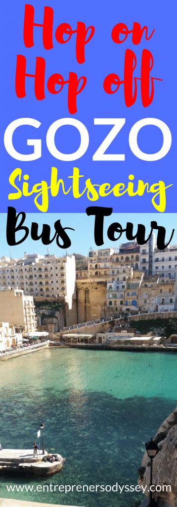 Hop on Hop off bus tour on Gozo