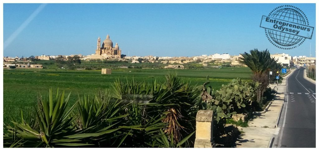 Stunning Gozo views from the hop on hop off bus