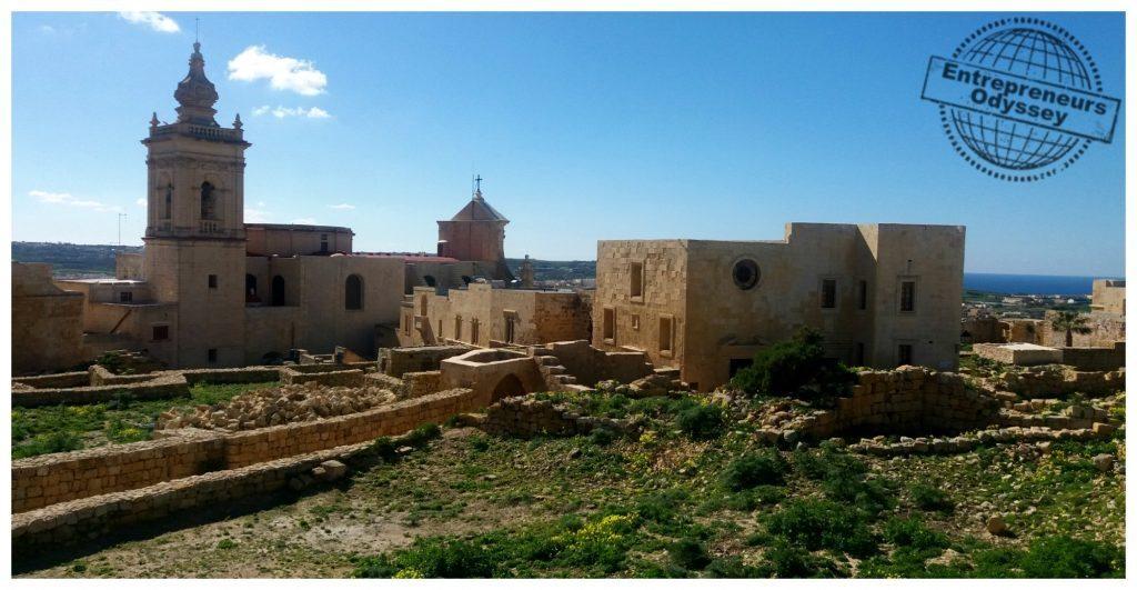 The capital of Gozo, Victoria & the Citadel