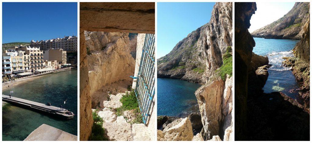 The views from the walk around Xlendi bay