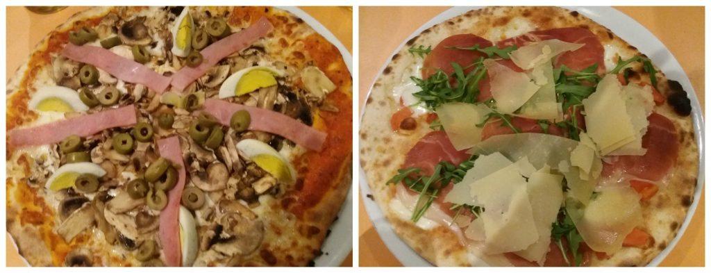 Pizza from Luzzu restaurant Qawra