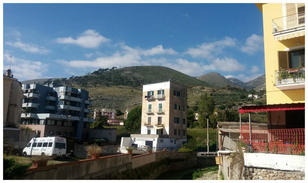 Hills in Formia