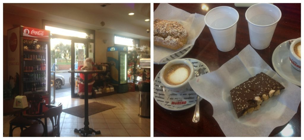 More different pastries from Bar Pasticceria Amedeo in Formia