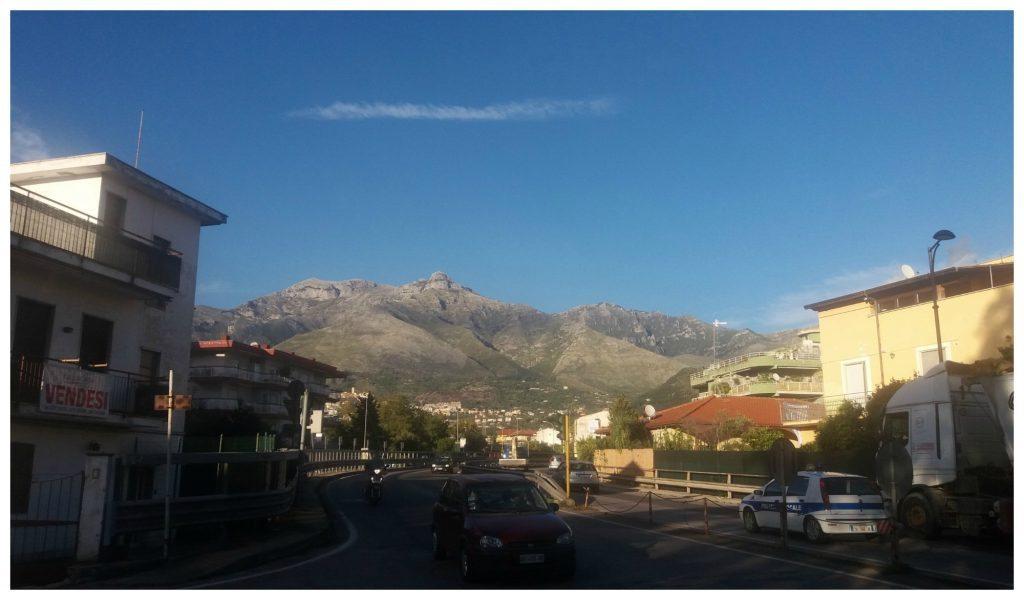 Mountains around Formia