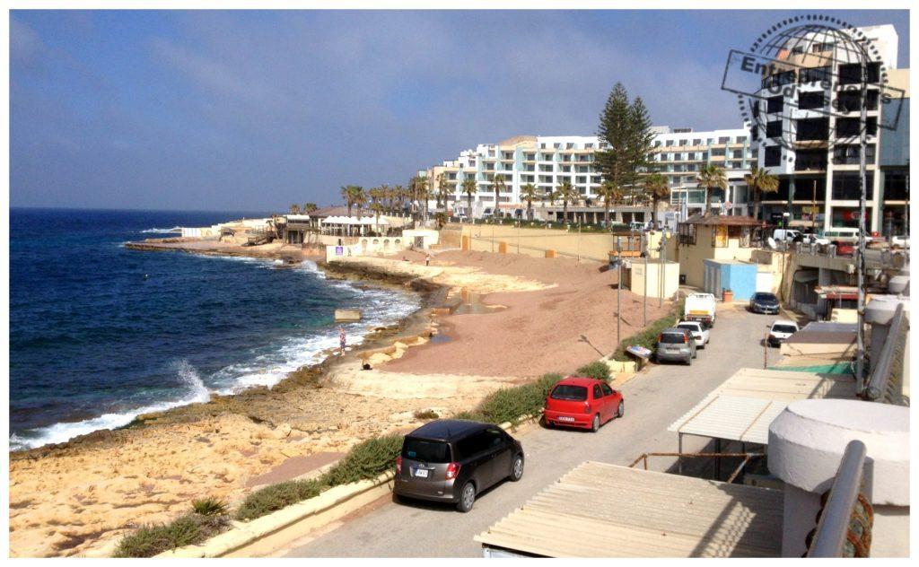 Qawra beachfront Malta
