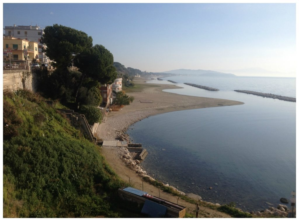 The bays along Formia waterfront