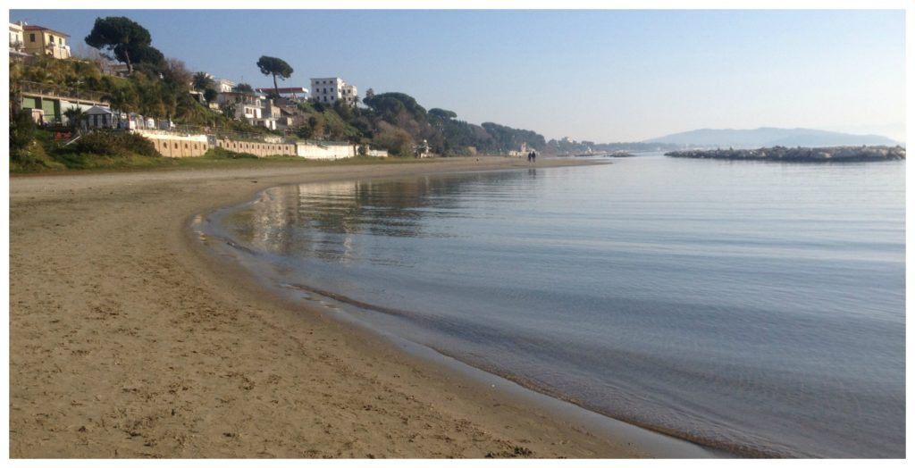 Tranquil Formia beach